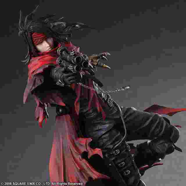 Screenshot des Spiels FINAL FANTASY VII DIRGE OF CERBERUS PLAY ARTS KAI – VINCENT