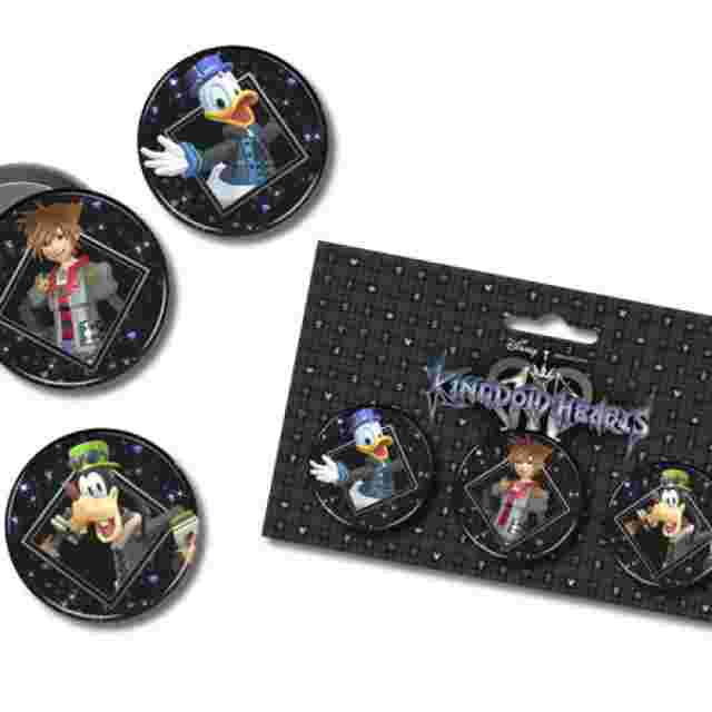 Screenshot for the game KINGDOM HEARTS III – BUTTON 3 SET [REWARD]