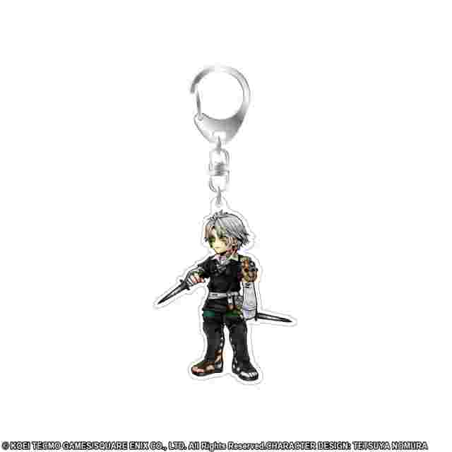 Screenshot for the game DISSIDIA FINAL FANTASY Acrylic Keychain Thancred