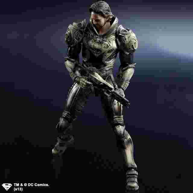 Capture d'écran du jeu FIGURINE MAN OF STEEL PLAY ARTS KAI - [JOR-EL]