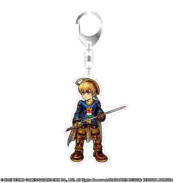 Screenshot for the game DISSIDIA FINAL FANTASY Acrylic Keychain Ramza