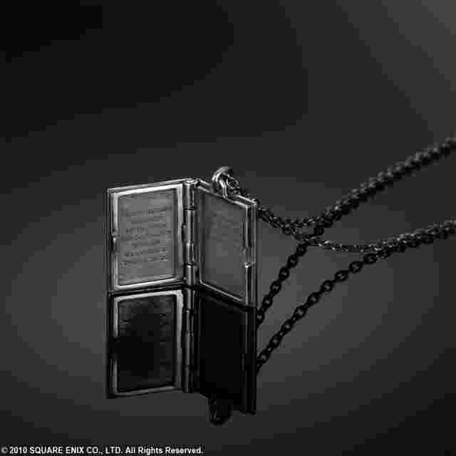 Screenshot for the game NIER SILVER LOCKET PENDANT - GRIMOIRE WEISS [JEWELRY]