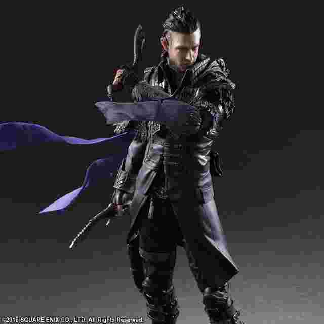 Capture d'écran du jeu KINGSGLAIVE: FINAL FANTASY XV PLAY ARTS -KAI- Nyx Ulric