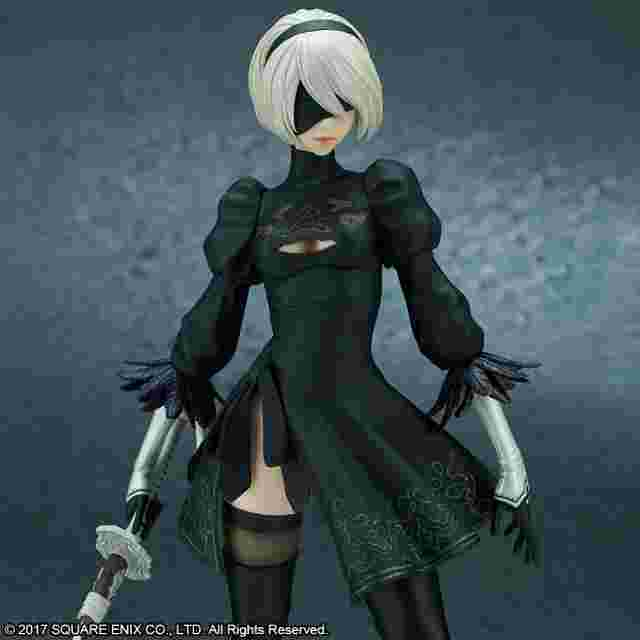 Captura de pantalla del juego NIER:AUTOMATA® 2B (YORHA NO. 2 TYPE B) - BY FLARE
