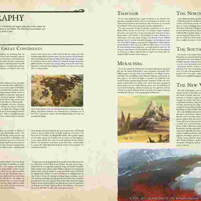 Screenshot des Spiels Encyclopaedia Eorzea ~The World of Final Fantasy XIV