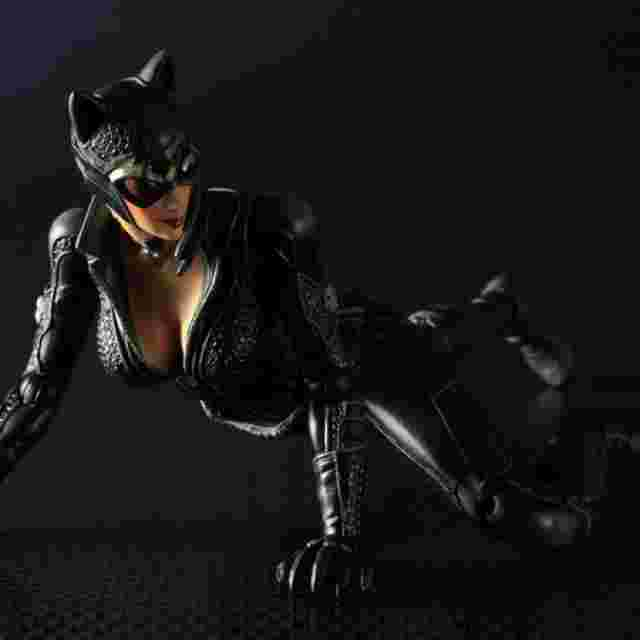 Screenshot for the game BATMAN ARKHAM CITY PLAY ARTS KAI [Catwoman]
