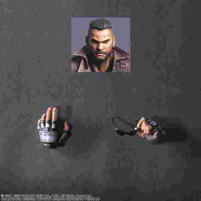 Captura de pantalla del juego FINAL FANTASY VII REMAKE PLAY ARTS KAI ACTION FIGURE - BARRET WALLACE VER. 2