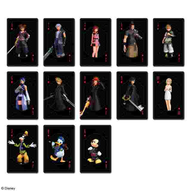 Screenshot des Spiels KINGDOM HEARTS SERIES /PLAYING CARDS