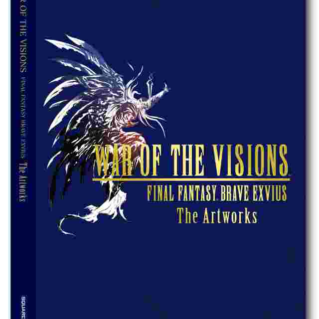 Screenshot for the game WAR OF THE VISIONS FINAL FANTASY® BRAVE EXVIUS The Artworks [ARTBOOK]