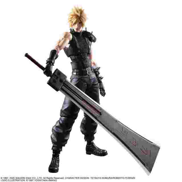 Screenshot for the game FINAL FANTASY® VII REMAKE PLAY ARTS KAI™ Action Figure - CLOUD STRIFE VER. 2 LIMITED VERSION
