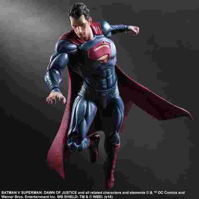 cattura di schermo del gioco Batman v Superman: Dawn of Justice - Superman