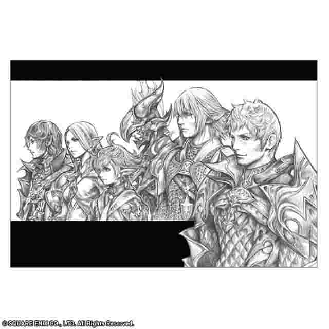 Screenshot for the game FINAL FANTASY Postcard Set Illustrated by TETSUYA NOMURA