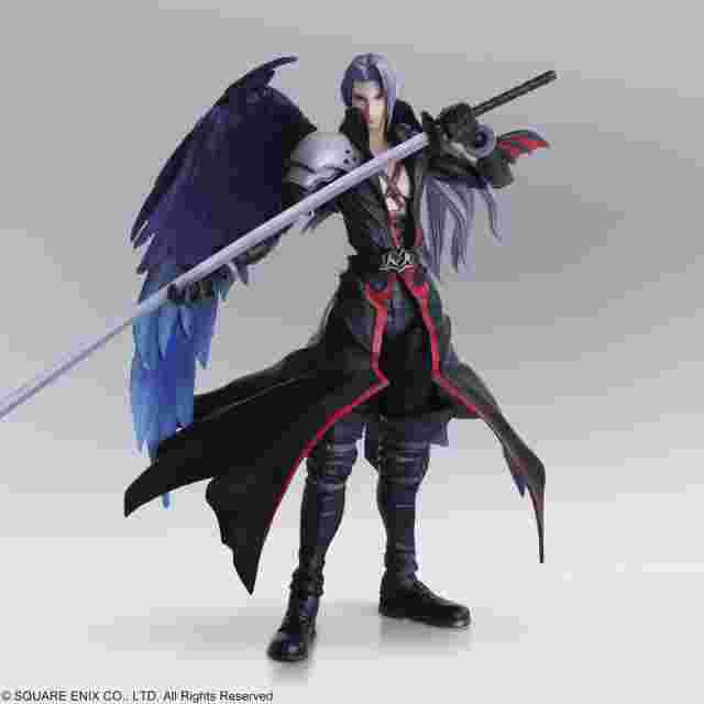 Capture d'écran du jeu FINAL FANTASY BRING ARTS SEPHIROTH ANOTHER FORM VARIANT SQUARE ENIX EDITION LIMITEE
