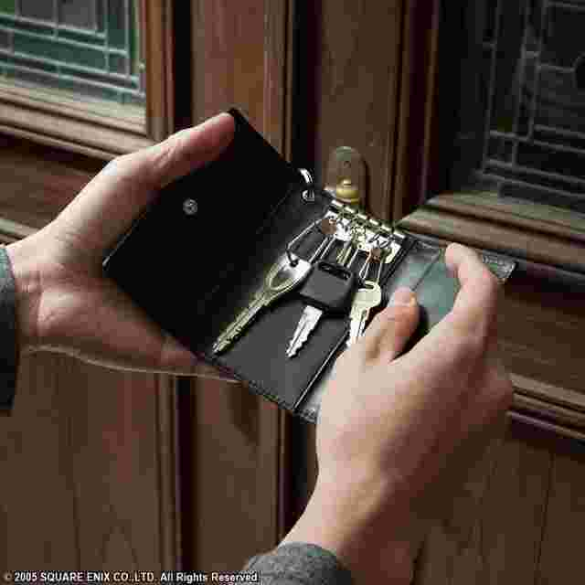 Screenshot des Spiels FINAL FANTASY VII Advent Children Leather Key Case Wallet - Cloudy Wolf