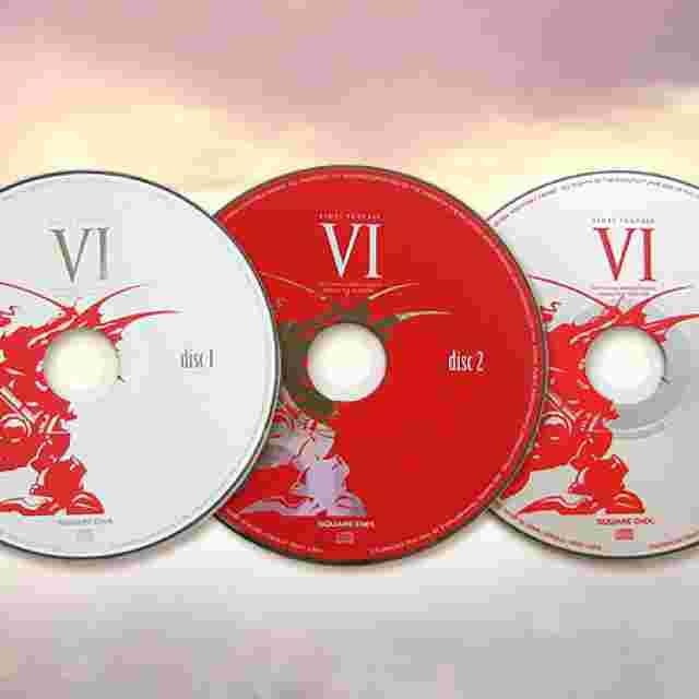 Capture d'écran du jeu Final Fantasy VI Original Soundtrack - Remaster Version [Music Disc]