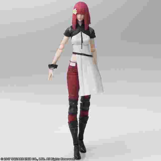 Capture d'écran du jeu NieR: Automata BRING ARTS Devola & Popola