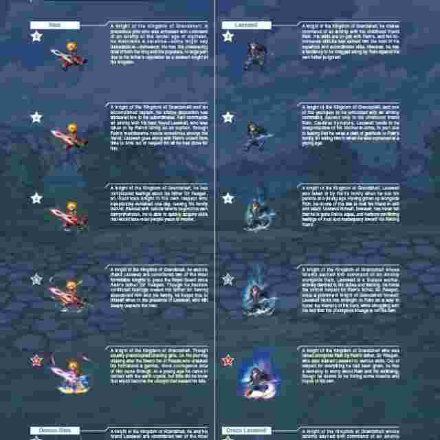 cattura di schermo del gioco FINAL FANTASY BRAVE EXVIUS THE ART WORK