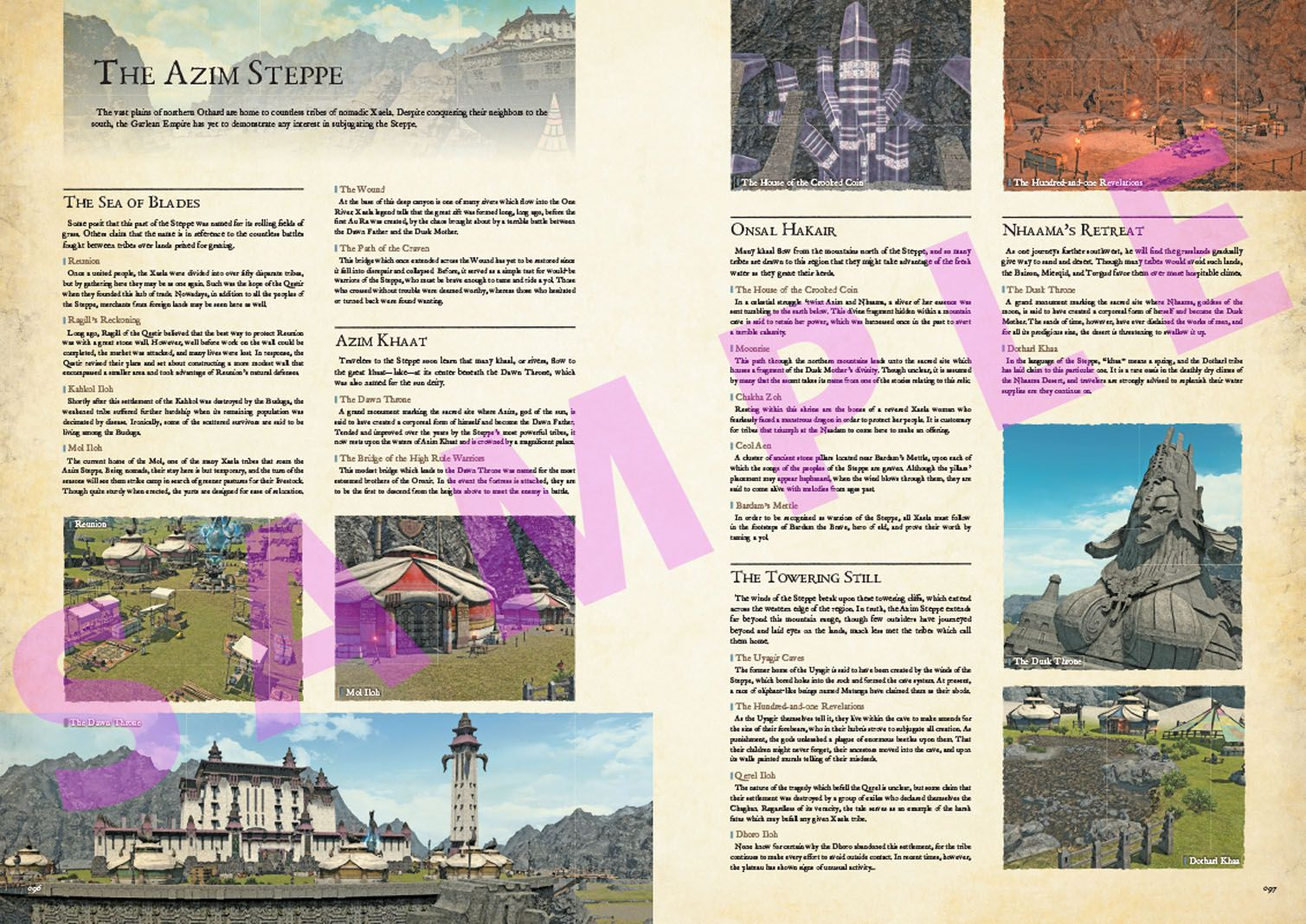 Encyclopaedia Eorzea The World of FINAL FANTASY XIV Volume II English