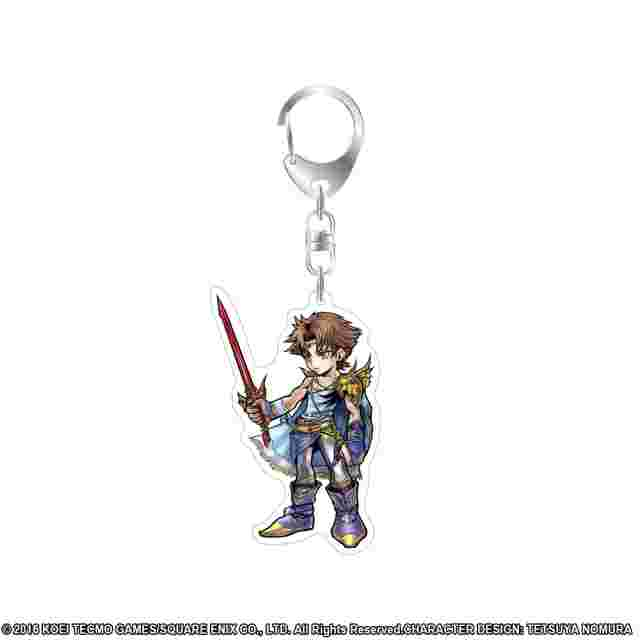 Screenshot for the game DISSIDIA FINAL FANTASY Acrylic Keychain Bartz