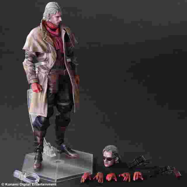 Screenshot des Spiels METAL GEAR SOLID V THE PHANTOM PAIN PLAY ARTS KAI [Ocelot]