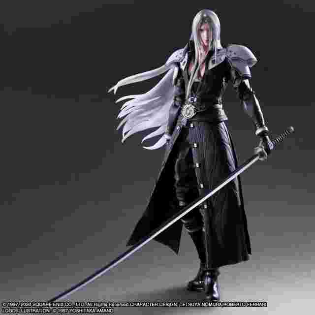 Screenshot for the game FINAL FANTASY VII REMAKE PLAY ARTS KAI ACTION FIGURE - SEPHIROTH