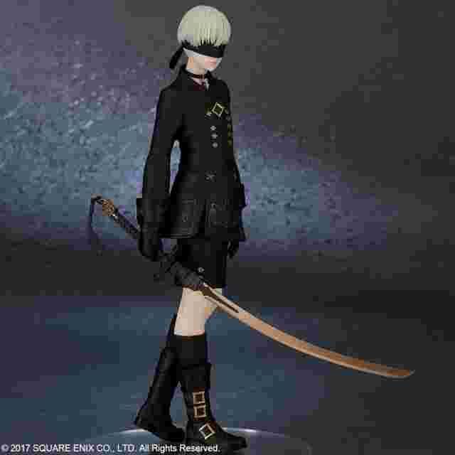 Screenshot for the game NieR:Automata® 9S (YoRHa No. 9 Type S) - by FLARE [FIGURINE]