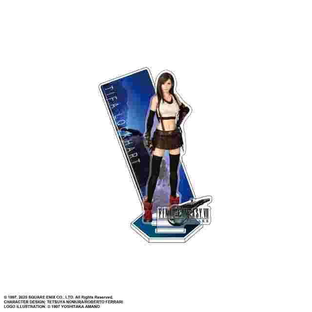 Screenshot for the game FINAL FANTASY VII REMAKE Acrylic Stand : TIFA LOCKHART
