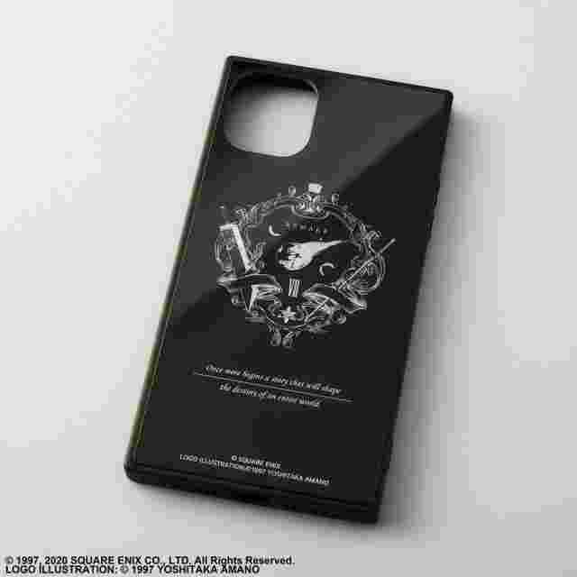 Capture d'écran du jeu FINAL FANTASY VII REMAKE SQUARE SMARTPHONE CASE FOR IPHONE 11 - EMBLEM