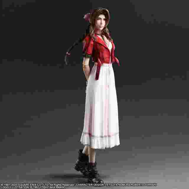 Capture d'écran du jeu FINAL FANTASY VII REMAKE PLAY ARTS KAI ACTION FIGURE - AERITH GAINSBOROUGH