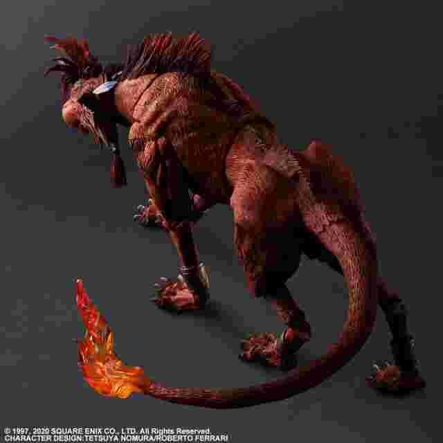 Capture d'écran du jeu FINAL FANTASY VII REMAKE PLAY ARTS KAI ACTION FIGURE - RED XIII