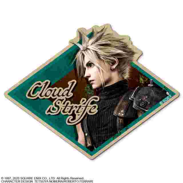 Captura de pantalla del juego FINAL FANTASY VII REMAKE CHARACTER STICKER - CLOUD STRIFE