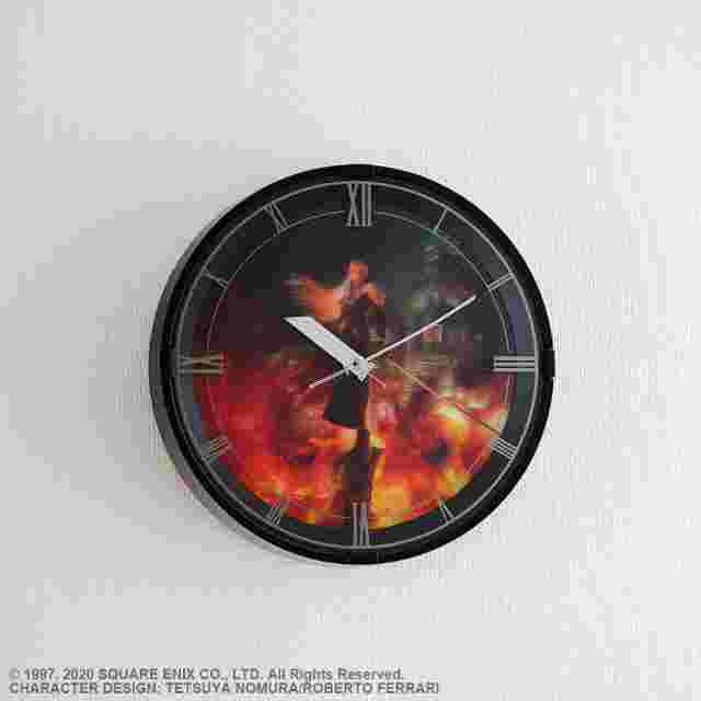 Screenshot des Spiels FINAL FANTASY VII REMAKE MELODY CLOCK SEPHIROTH MODEL
