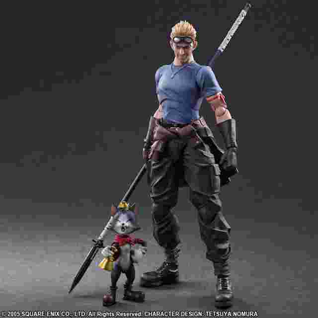 Captura de pantalla del juego FINAL FANTASY VII ADVENT CHILDREN PLAY ARTS KAI - CID HIGHWIND & CAIT SITH