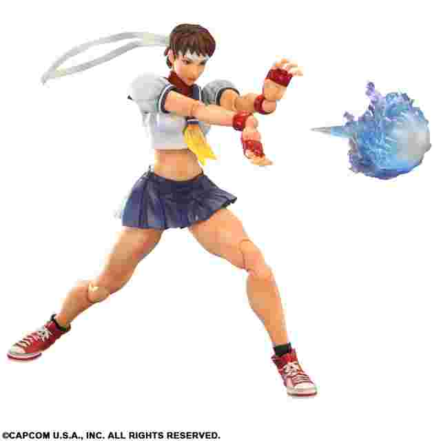 Capture d'écran du jeu FIGURINE PLAY ARTS KAI - SUPER STREET FIGHTER IV - [SAKURA]
