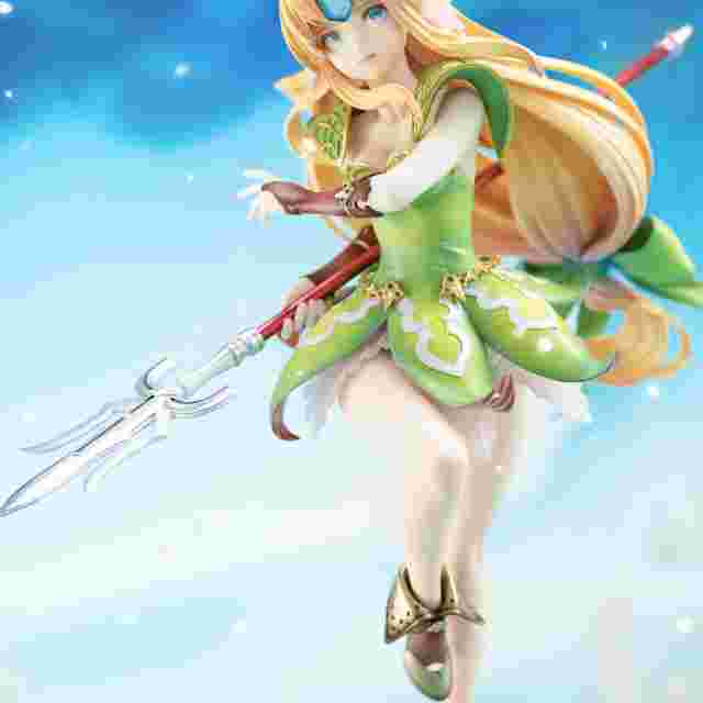 Screenshot for the game TRIALS OF MANA RIESZ - BY FLARE
