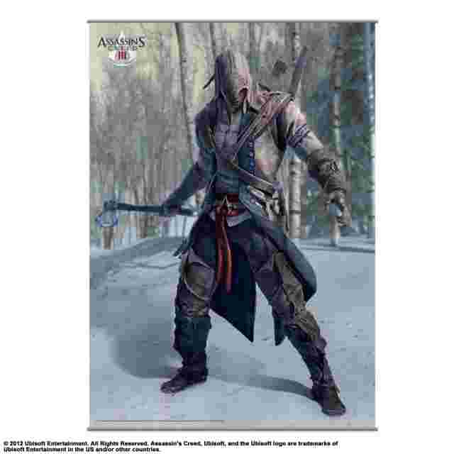 Capture d'écran du jeu ASSASSIN´S CREED III [Wall Scroll Vol.1]