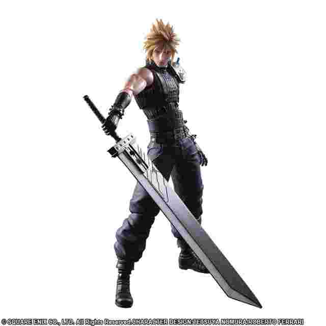 Capture d'écran du jeu FINAL FANTASY VII REMAKE PLAY ARTS KAI [No.1 CLOUD STRIFE]