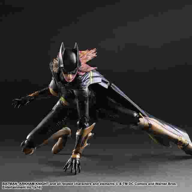 Capture d'écran du jeu Figurine Batman: Arkham Knight Play Arts Kai [Batgirl]