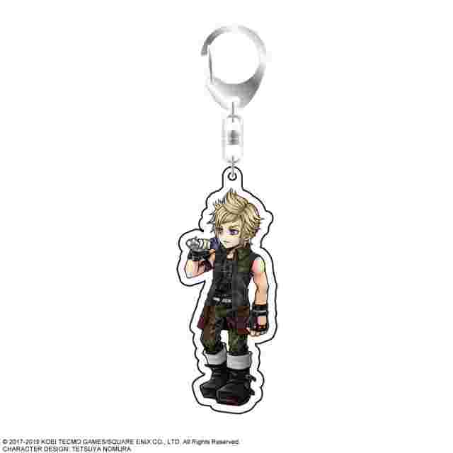 Screenshot for the game DISSIDIA FINAL FANTASY Acrylic Keychain Prompto Argentum