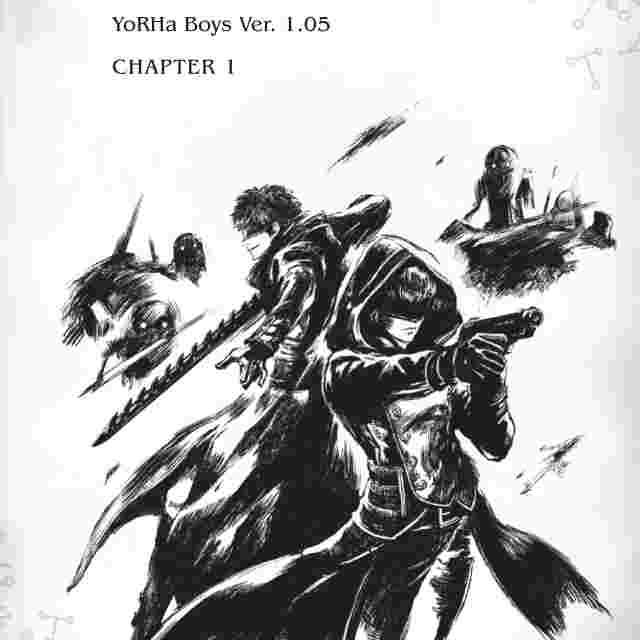 Screenshot for the game NieR:Automata - YoRHa Boys [BOOK]