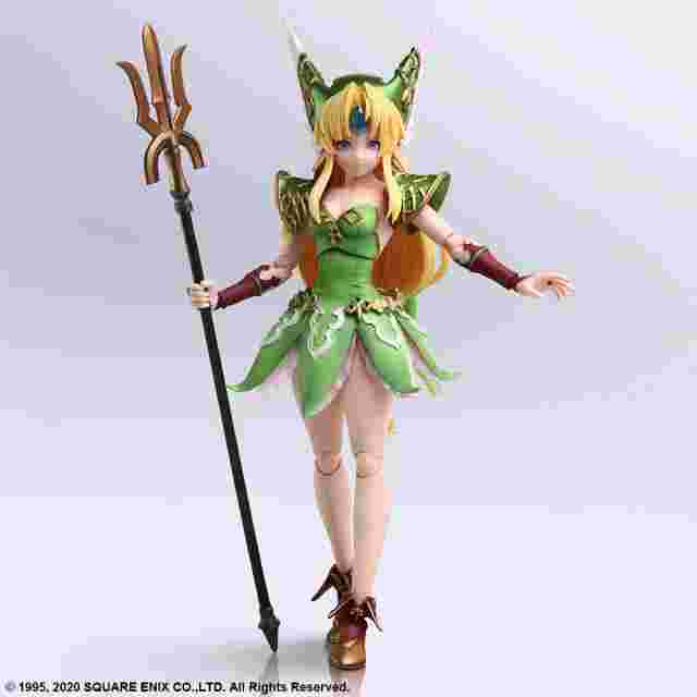 Screenshot for the game Trials of Mana BRING ARTS™ Action Figure HAWKEYE & RIESZ