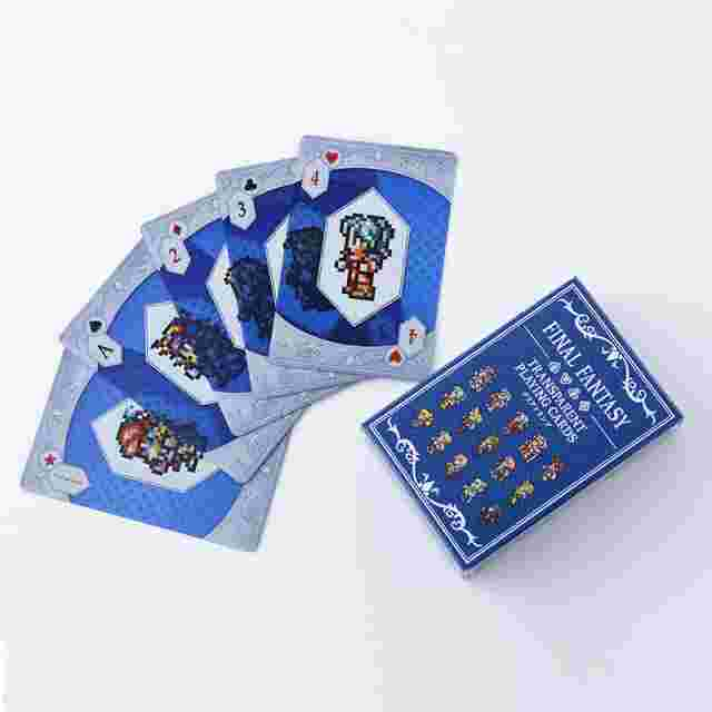 Captura de pantalla del juego FINAL FANTASY Transparent Playing Cards