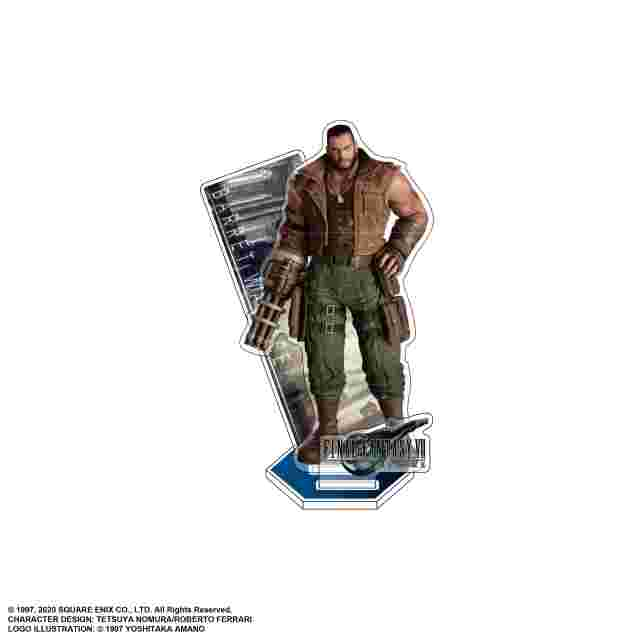 Screenshot for the game FINAL FANTASY VII REMAKE Acrylic Stand : BARRET WALLACE