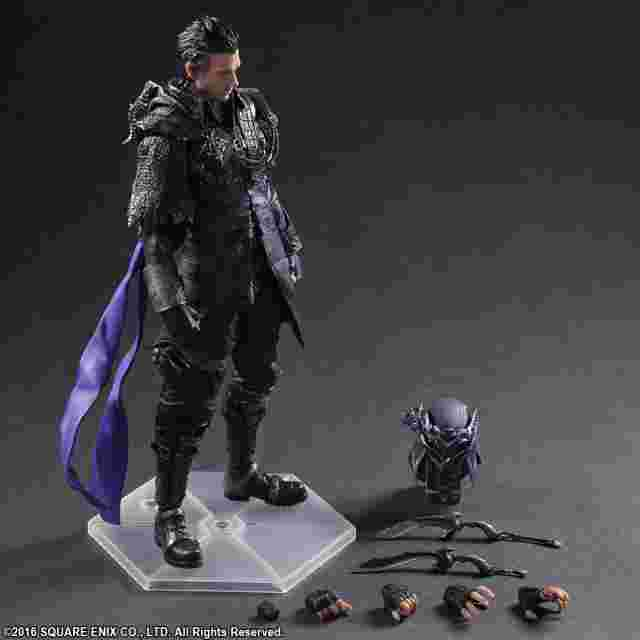 Screenshot for the game KINGSGLAIVE: FINAL FANTASY XV PLAY ARTS -KAI- Nyx Ulric