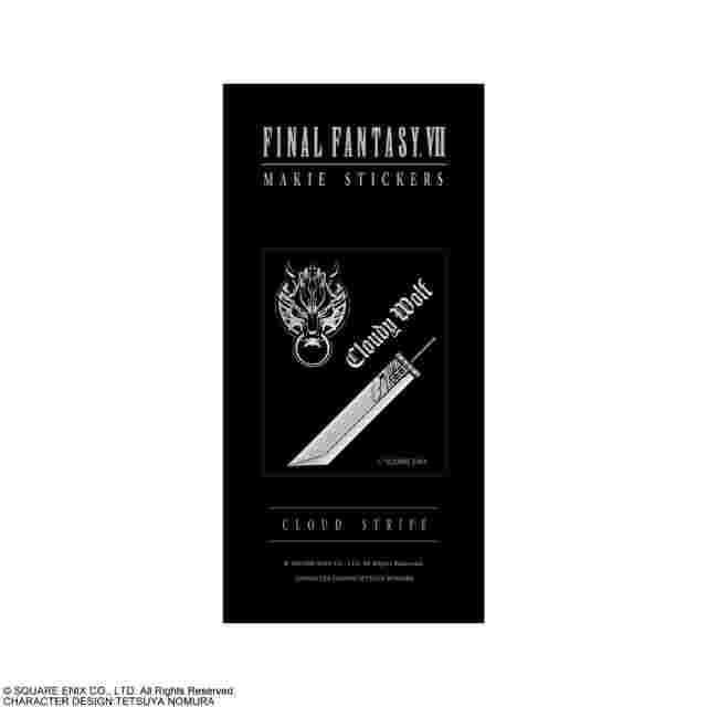 Captura de pantalla del juego FINAL FANTASY VII MAKIE STYLE STICKERS - CLOUD STRIFE
