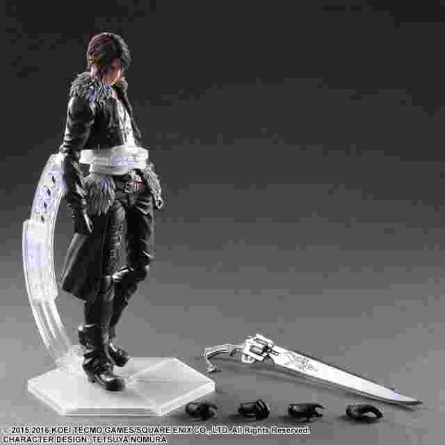 Screenshot des Spiels Dissidia Final Fantasy Play Arts Kai - Squall Leonhart