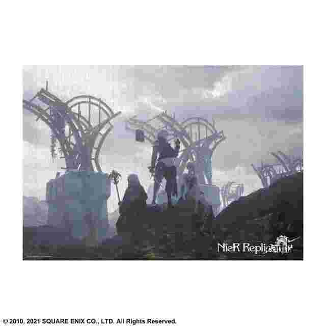 Screenshot for the game NieR Replicant ver.1.22474487139... 1000 Piece Jigsaw Puzzle B