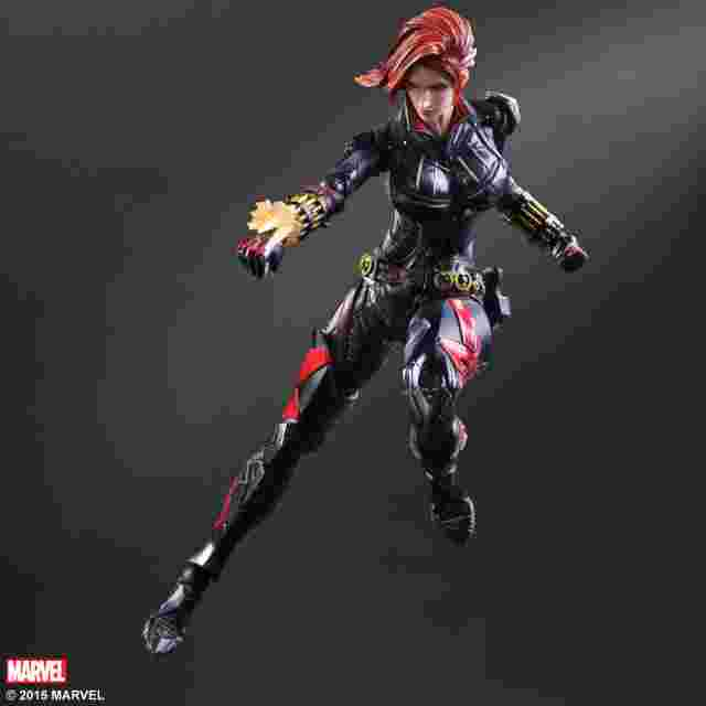 Capture d'écran du jeu Marvel Universe VARIANT PLAY ARTS KAI [Black Widow]