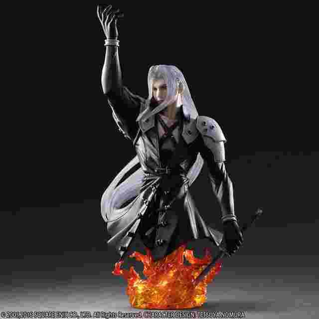 Captura de pantalla del juego Final Fantasy VII Static Arts Bust - Sephiroth