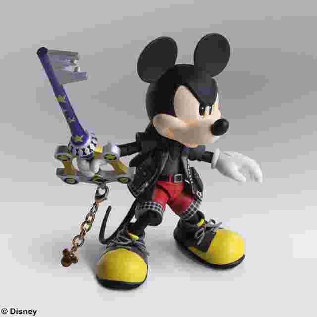 Capture d'écran du jeu KINGDOM HEARTS III BRING ARTS - ROI MICKEY